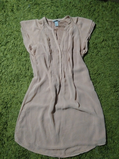H&M barack színű ruha
