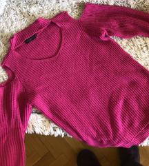 Cut out pulóver