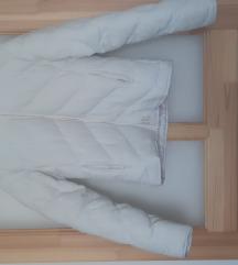 Fehér bélelt dzseki