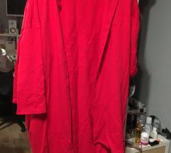 Pink hosszú pulover