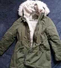 KEKI Zöld téli kabát