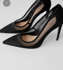ZARA mesh high heels