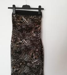Leopárd mintás mini ruha Matmazel