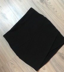 Fekete pamut szoknya