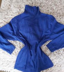 Kék garbó tunika / hosszított felső