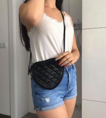 Fekete szív táska