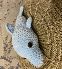 Horgolt delfin