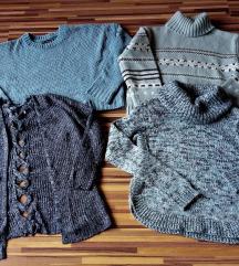 márkás kék pulcsik