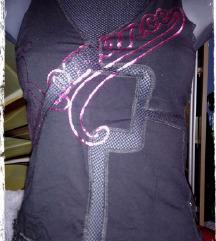 Új Jennyfer necc betétes top -póló