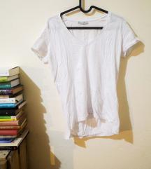 zara fehér póló, S