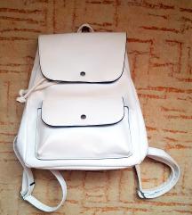 Zara fehér hátizsák