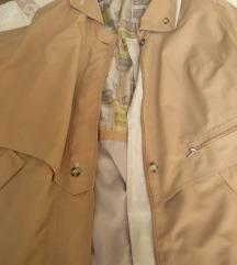 Oversize vintage ballon kabát
