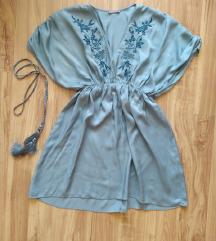 Orsay kék hímzett ruha