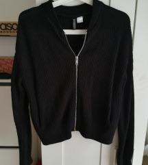 Fekete H&M cipzáros pulcsi