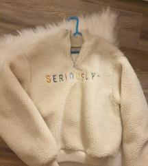 Bershka teddy pulóver