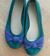 Deichman balerina zöld-kék 41