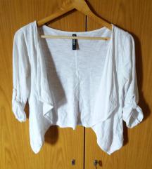 Fehér színű boleró