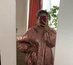Metál rózsaszín dzseki