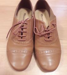 Mustár színű cipő