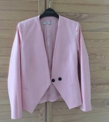 Rózsaszín Mango blézer