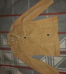 Kenny's világosbarna női bársony kabát
