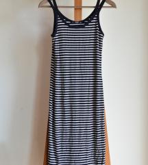 MANGO hosszú dupla pántos ruha M/38