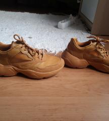 MANGO sárga sportcipő