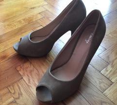 Platform nude cipő
