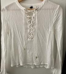 H&M fehér blúz