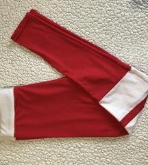 Piros edző leggings