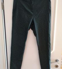 F&F zöld fekete fehér mintás chino nadrág (42)