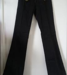 Fishbone fekete nadrág, 25-ös