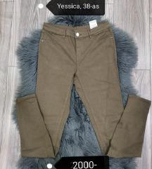 Yessica női barna nadrág
