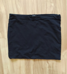H&M Basic fekete szoknya