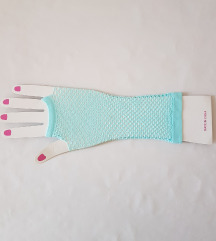 ÚJ, ujj nélküli hálós kesztyű