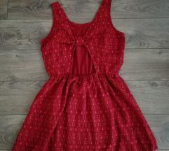 Meggypiros nyári ruha