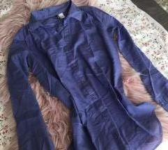 Kék hosszúujjú ing