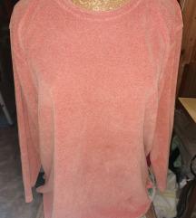 XL-es narancssárga pulóver