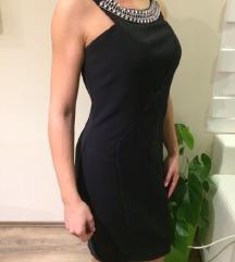 Zara fekete gyönyörű alkalmi elegáns ruha