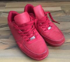 Piros férfi cipő