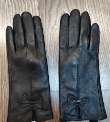 Fekete bőrkesztyű