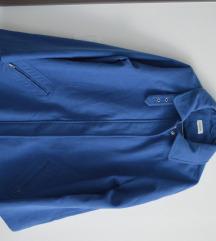Kék szövet kabát