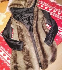 Kivehető béléses, kifordítható kabát