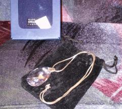 nyaklánc eredeti Swarovski kristály medállal