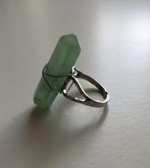 Új csomagolt FLUORIT ásvány gyűrű