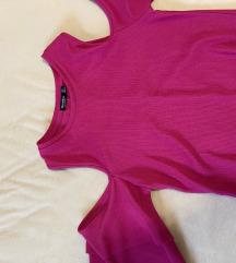 BERSHKA pink ruha