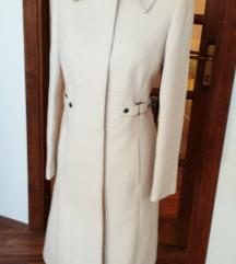 Karen Millen ivory angora-gyapjú kabát UK8/EU36