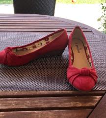 Piros nyári cipő