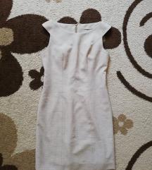 Krémszínű alkalmi ruha