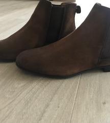 Zara barna velúrbőr férfi cipő